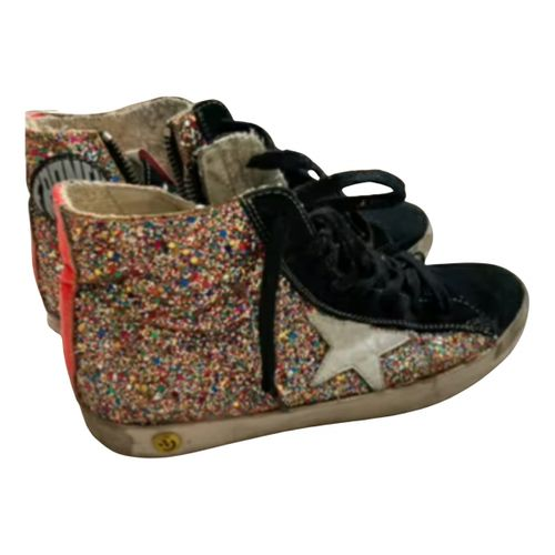 Golden Goose Francy leather trainers