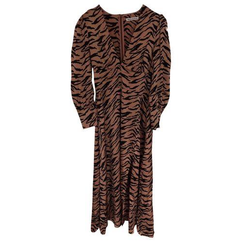 Reformation Silk mid-length dress