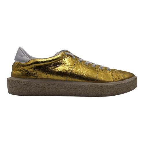 Golden Goose Tenthstar leather trainers