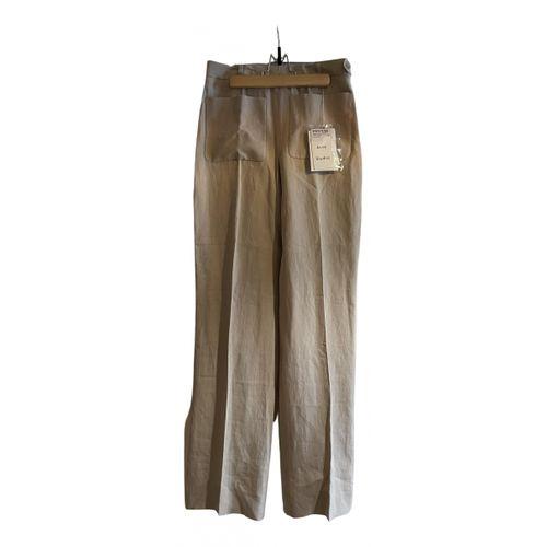 ACNE Acne Studios Linen trousers