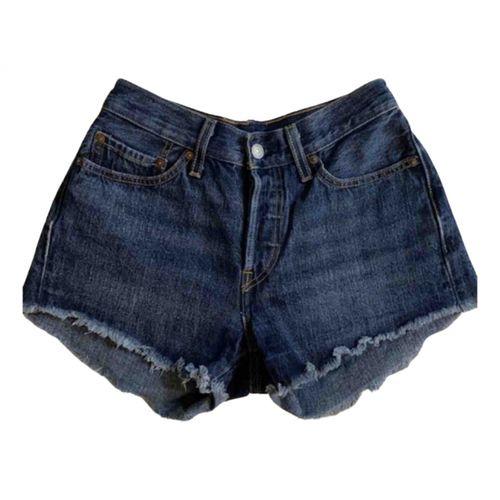 Levi's Blue Denim - Jeans Shorts
