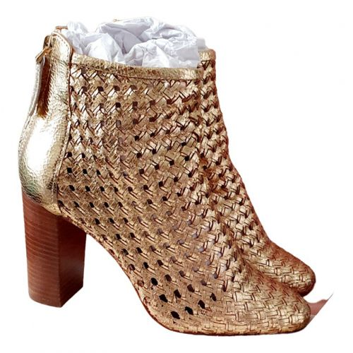 Sézane Leather ankle boots