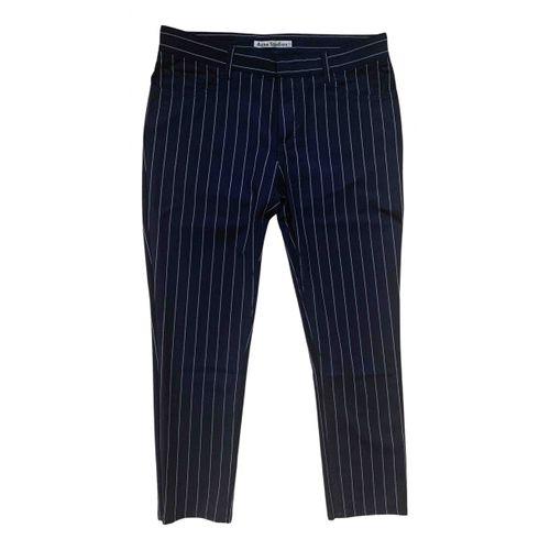 Acne Studios Wool slim pants