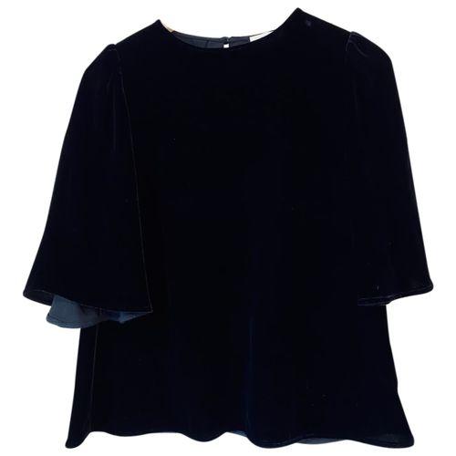 Sézane Fall Winter 2019 velvet blouse
