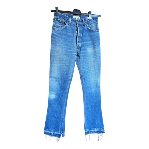 Re/Done x Levi's Bootcut jeans