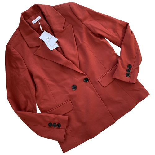 Anine Bing Red Polyester Jacket
