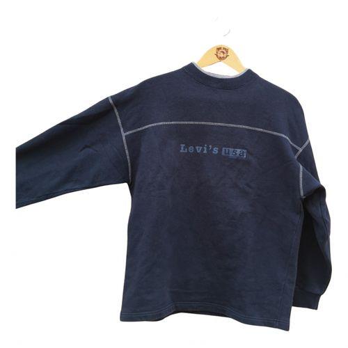 Levi's Vintage Clothing Blue Cotton Knitwear