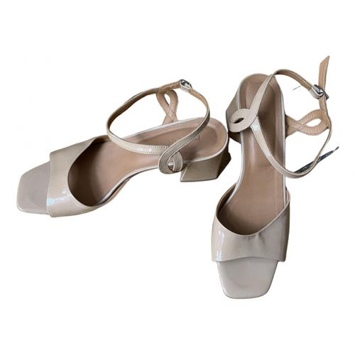 By Far Leather sandals