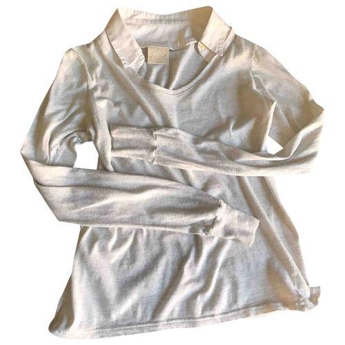 Golden Goose Anthracite Cotton Knitwear
