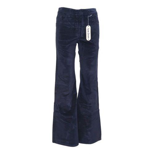 Acne Studios Velvet trousers