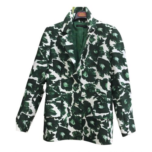 M Of Pearl Green Cotton Jacket