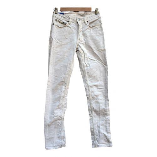 Acne Studios Blå Konst slim pants