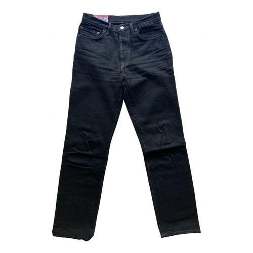 ACNE Acne Studios Blå Konst straight jeans