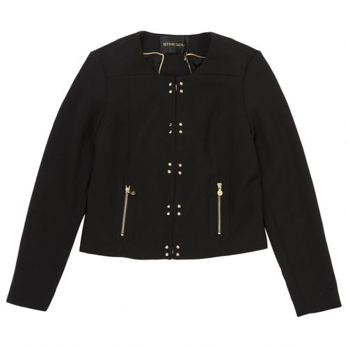 Stine Goya Black Polyester Jacket