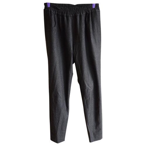 Dries Van Noten Wool carot pants