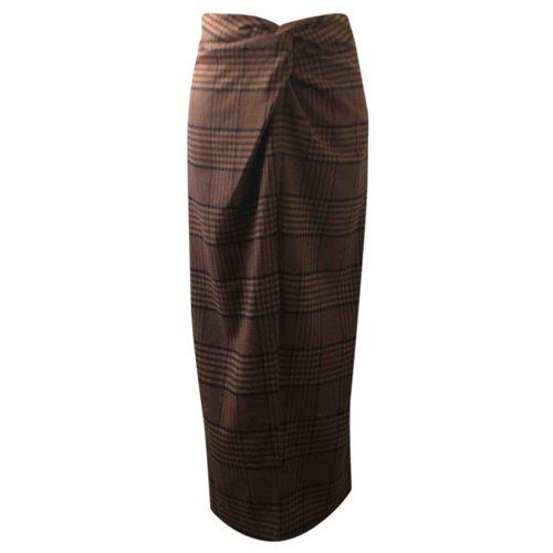 Nanushka Wool maxi skirt