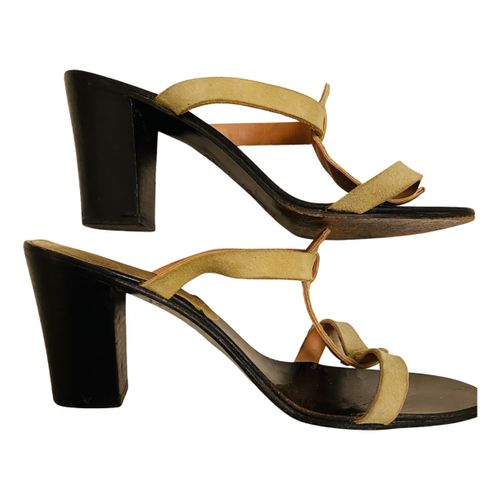 K Jacques Leather mules