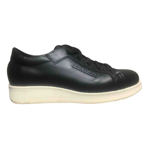 Acne Studios Leather trainers