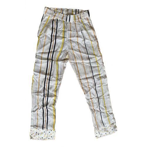 Stine Goya Silk straight pants