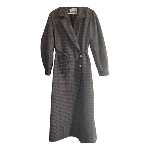 Ganni Spring Summer 2020 wool coat