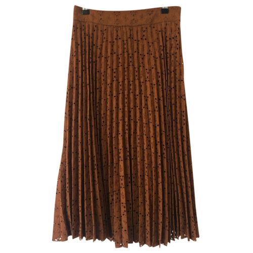 Sézane Fall Winter 2020 mid-length skirt