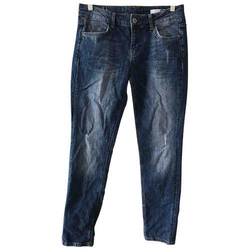 Anine Bing Blue Cotton - elasthane Jeans