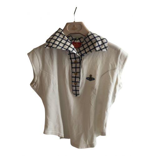 Vivienne Westwood White Cotton Top