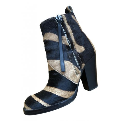 Acne Studios Pistol pony-style calfskin ankle boots