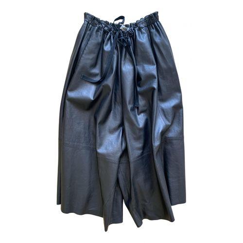 Acne Studios Leather large pants