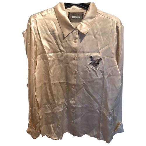 Reformation Silk shirt