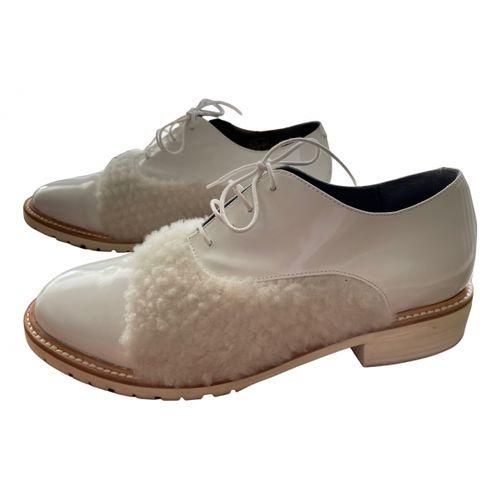 Amélie Pichard Patent leather lace ups