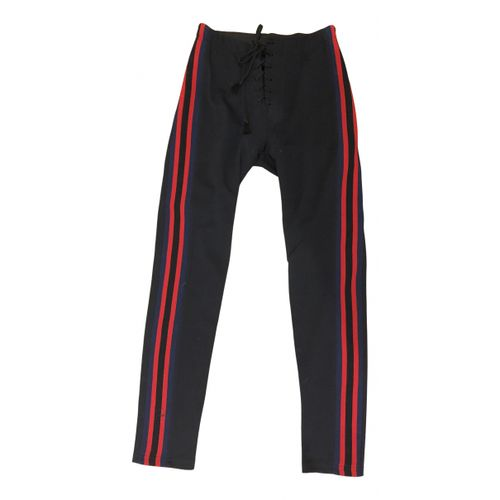 Yeezy Blue Polyester Trousers