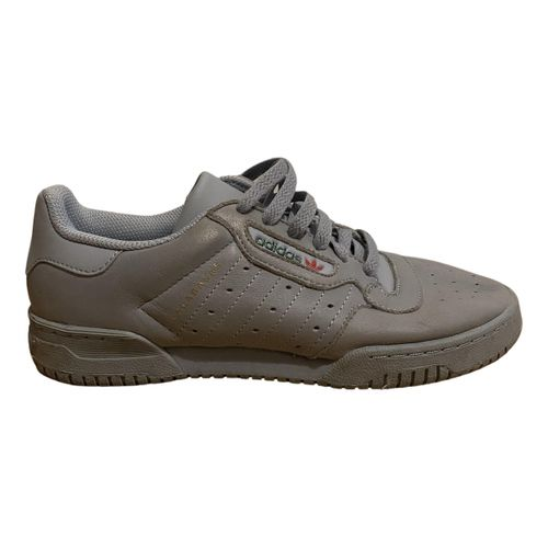 Yeezy x Adidas Powerphase leather trainers