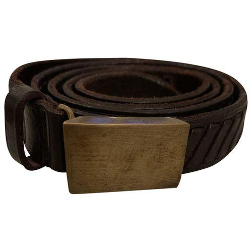 Golden Goose Leather belt