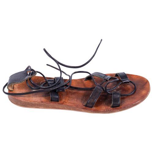 K Jacques Leather sandals