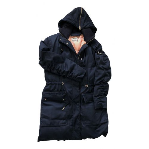 Acne Studios Blue Polyester Coat