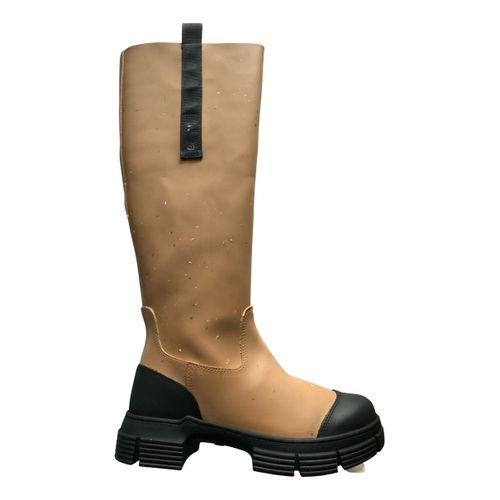 Ganni Wellington boots