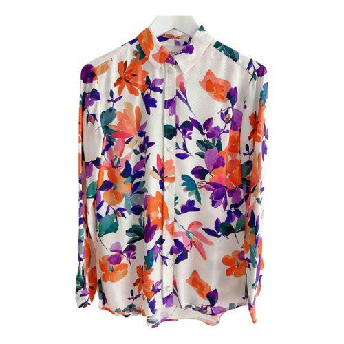 Sézane Fall Winter 2020 silk shirt