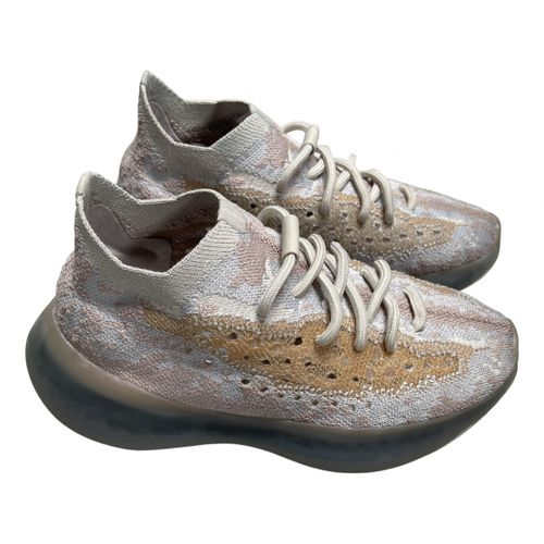 Yeezy x Adidas Boost 380 cloth trainers