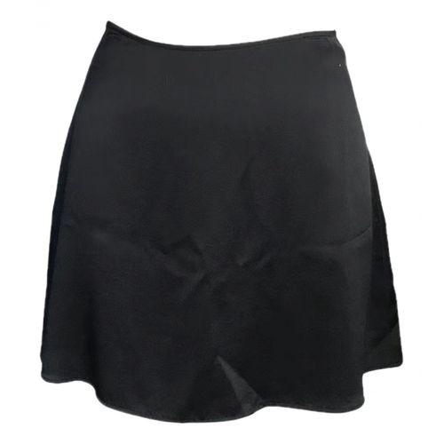 Reformation Silk mini skirt