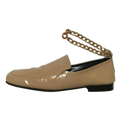 By Far Patent leather flats