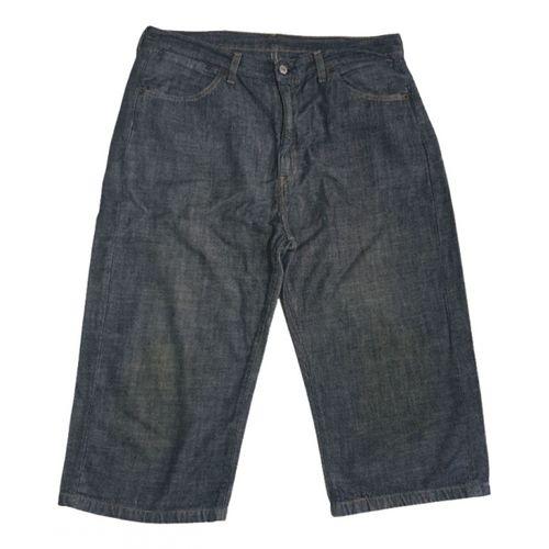 Levi's Blue Cotton Shorts
