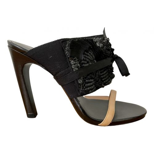 Dries Van Noten Leather sandals