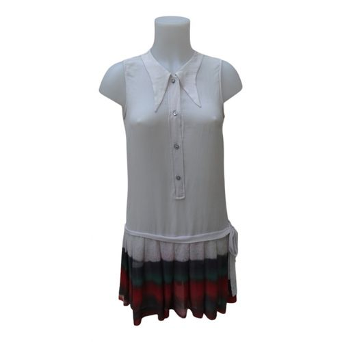 Dries Van Noten Silk mid-length dress
