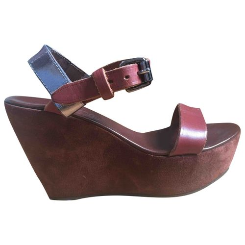 Acne Studios Leather sandal