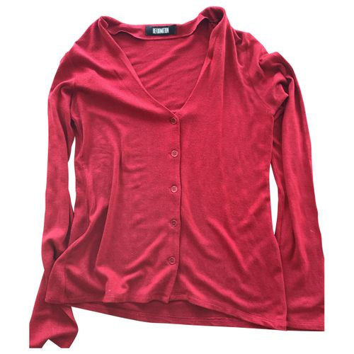 Reformation Red Synthetic Knitwear
