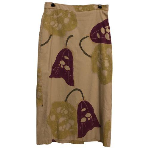 Dries Van Noten Silk mid-length skirt