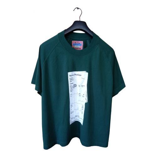 Acne Studios Blå Konst t-shirt