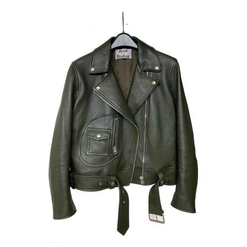 ACNE Acne Studios Leather biker jacket
