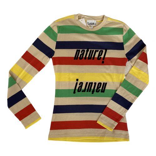 Ganni Multicolour Cotton Knitwear